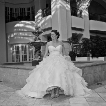 bride at chateau elan georgia